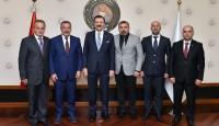 Arhavi Ticaret ve Sanayi Odası'ndan Hisarcıklıoğlu'na ziyaret