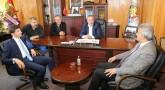 KAYMAKAM ONGU VE BELEDİYE BAŞKANI HEKİMOĞLU'NDAN ARHAVİ TİCARET ODASI'NA ZİYARET