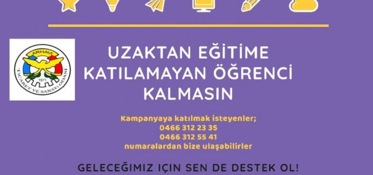 UZAKTAN EĞİTİME KATILAMAYAN ÖĞRENCİ KALMASIN!!